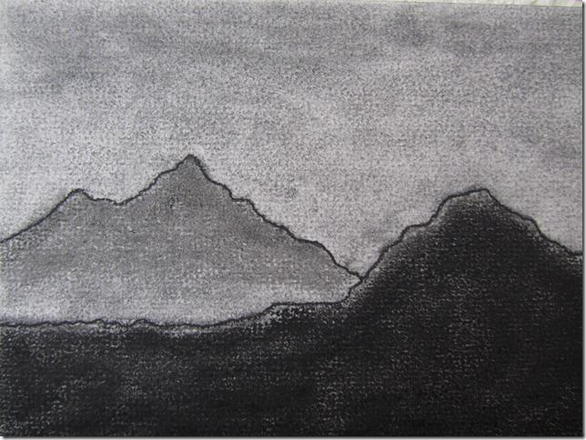 montaña fade